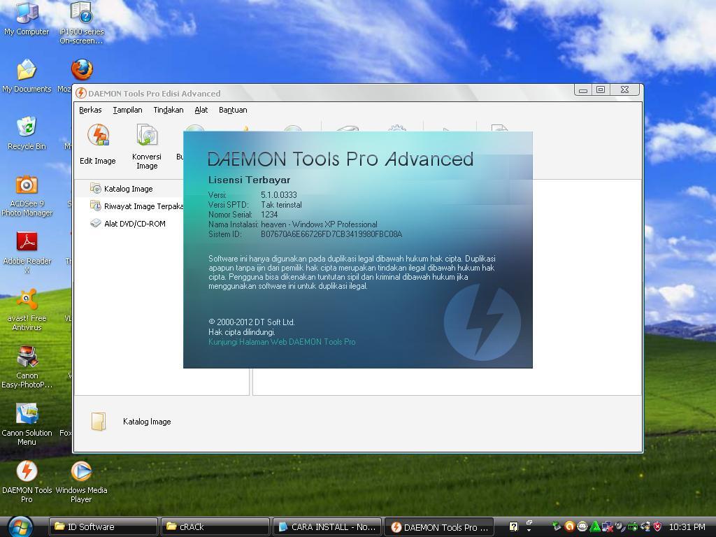 Daemon Tools Pro Advanced 5.1 Full Crack merupakan software untuk.