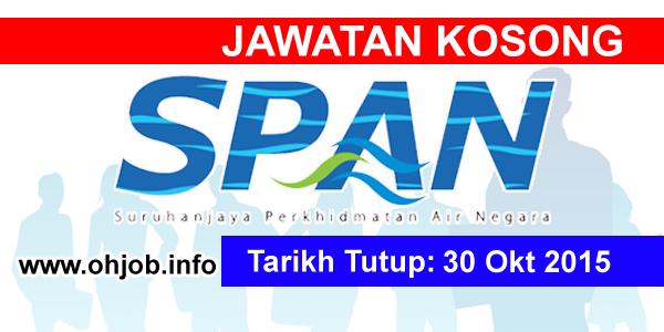 Jawatan Kerja Kosong Suruhanjaya Perkhidmatan Air Negara (SPAN) logo www.ohjob.info oktober 2015