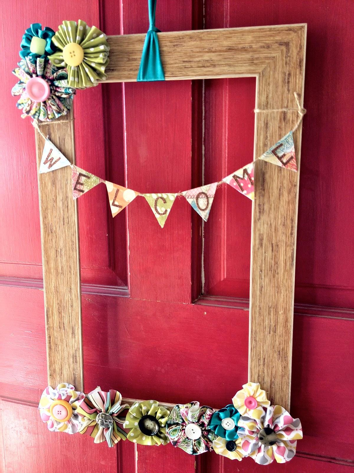 Something breezy diy summer wreath for Diy summer wreath