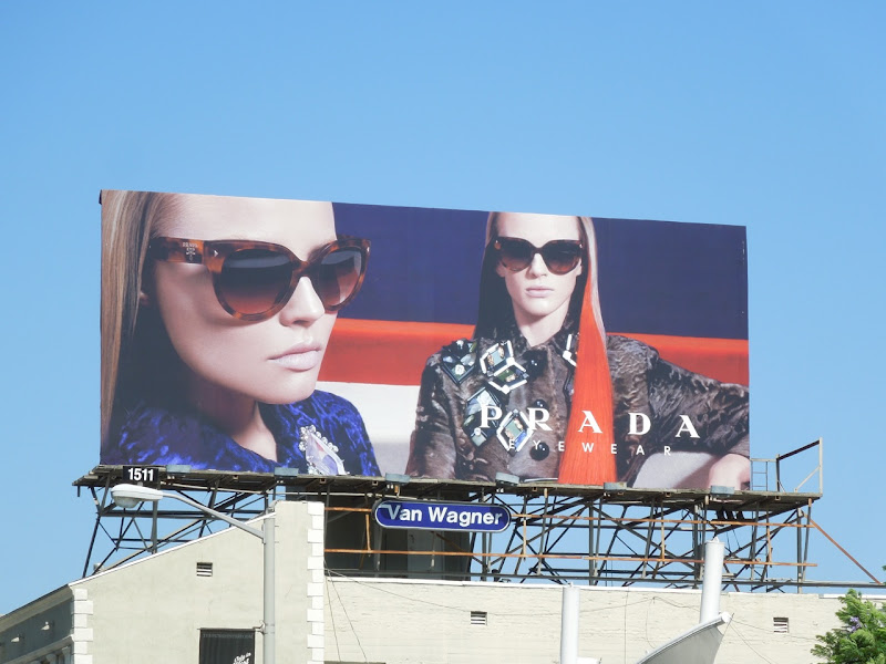 Prada FW 2012 eyewear billboard