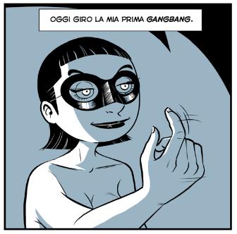 Mauro Marchesi per Comics FUCKtory di Cyrano Comics
