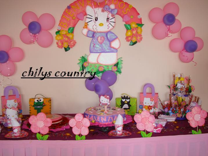 Chilyscountry decoracion de hello kitty - Decoracion hello kitty ...