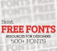 Tasarımcılar için en iyi font kaynakları (500+ Free Fonts)