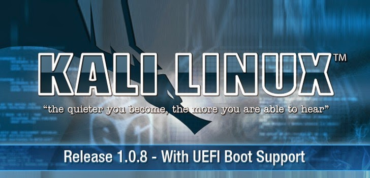 Kali Linux 1.0.8 — New Release Supports UEFI Boot