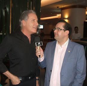 Antonio Carlos Gomes e Roberto Justus
