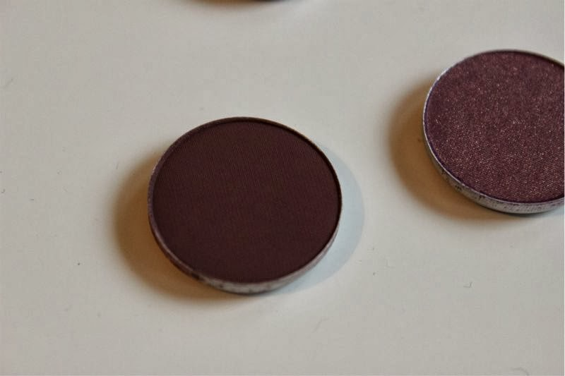 MAC Purple Eyeshadows