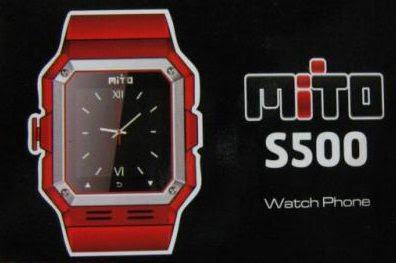 Mito S500 Handphone Jam Tangan, Kelebihan dan Kekurangannya