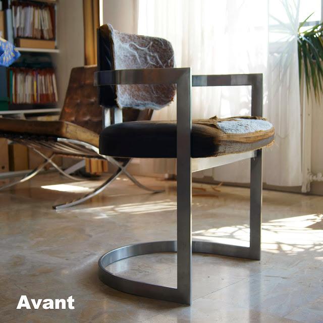 Avant Aprs Fauteuil Bureau Vintage Atelier Velvet