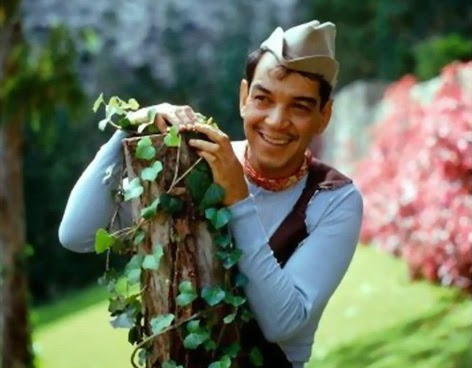 """... him to his public was his comic use of language in his films; his characters (all of which were really variations of the main """"Cantinflas"""" persona but ..."""