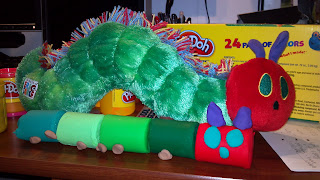 playdoh hungry hungry caterpillar