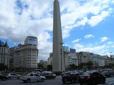 Plaza de la República, Buenos Aires, Argentina, vuelta al mundo, round the world, La vuelta al mundo de Asun y Ricardo