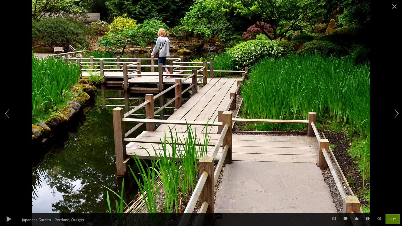 Japanese zen garden japanese garden path bridge for Japanese garden path