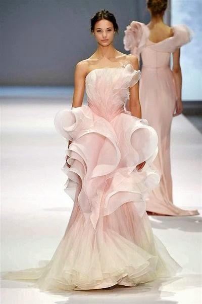 les plus belles robes de haute couture défilé mariage