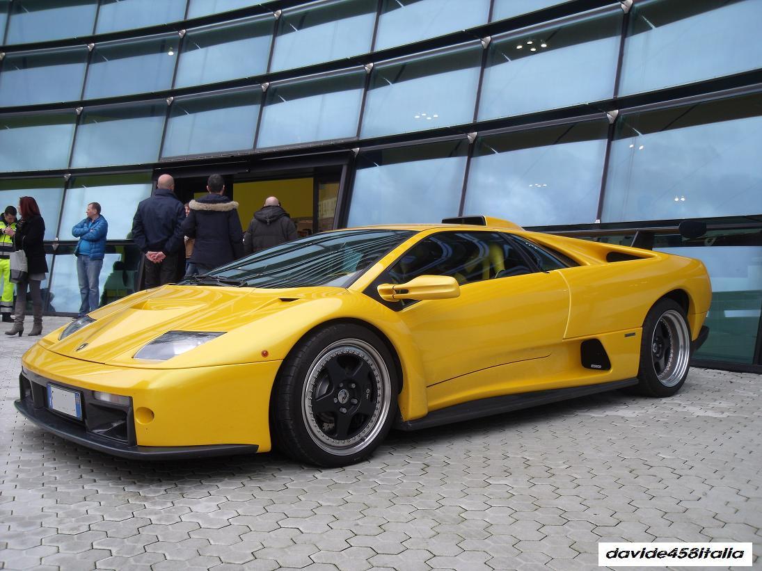 Davide458italia Lamborghini Diablo Gt Spotted Photos Video