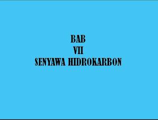 slide awal hidrokarbon