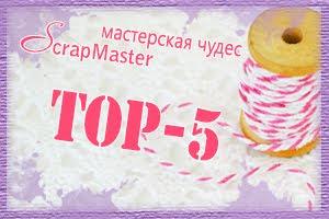 ТОП-5 в ScrapMaster