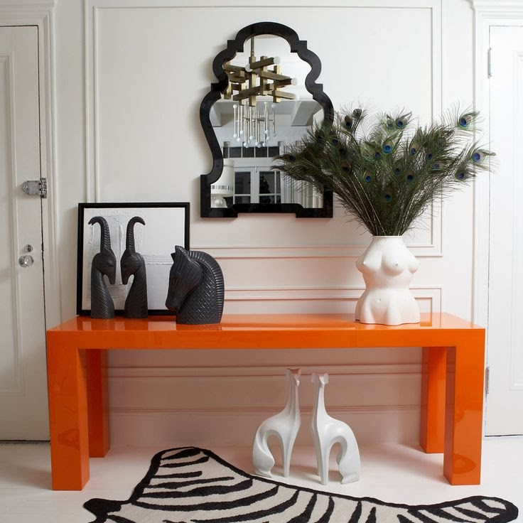 modern Queen Anne mirror