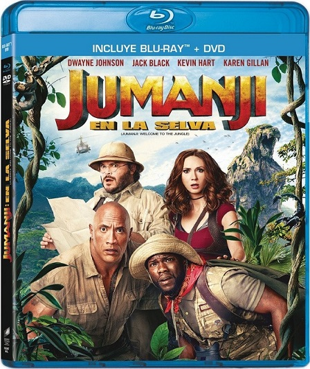 Jumanji: Welcome to the Jungle (Jumanji: En la Selva) (2017) 1080p BluRay REMUX 23GB mkv Dual Audio DTS-HD 5.1 ch