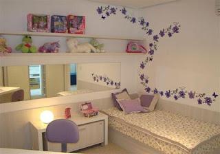 como decora um quarto feminino