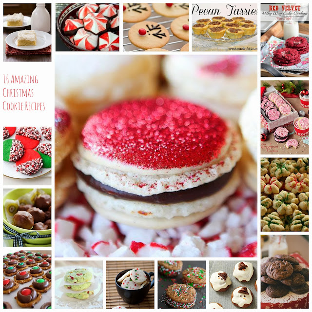 Create these Christmas Cookies Recipes to share with your friends and family this holiday season! Enjoy classics and fun new twists on cookies!