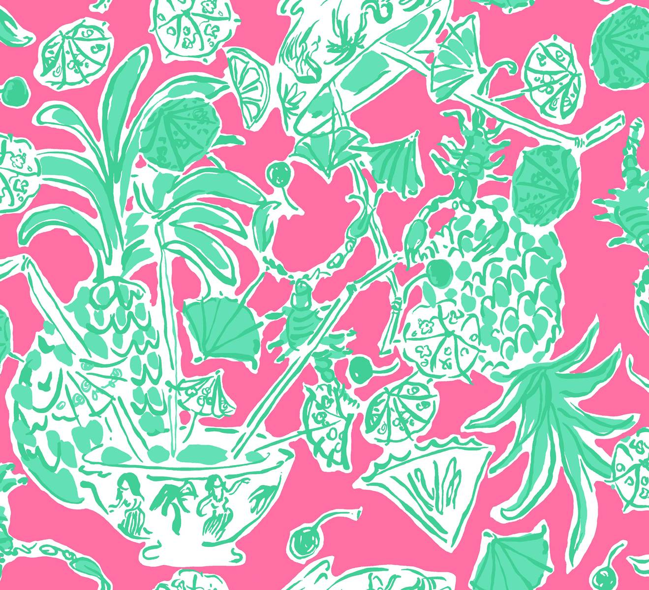 forty weeks freebie lilly pulitzer wallpaper prints. Black Bedroom Furniture Sets. Home Design Ideas