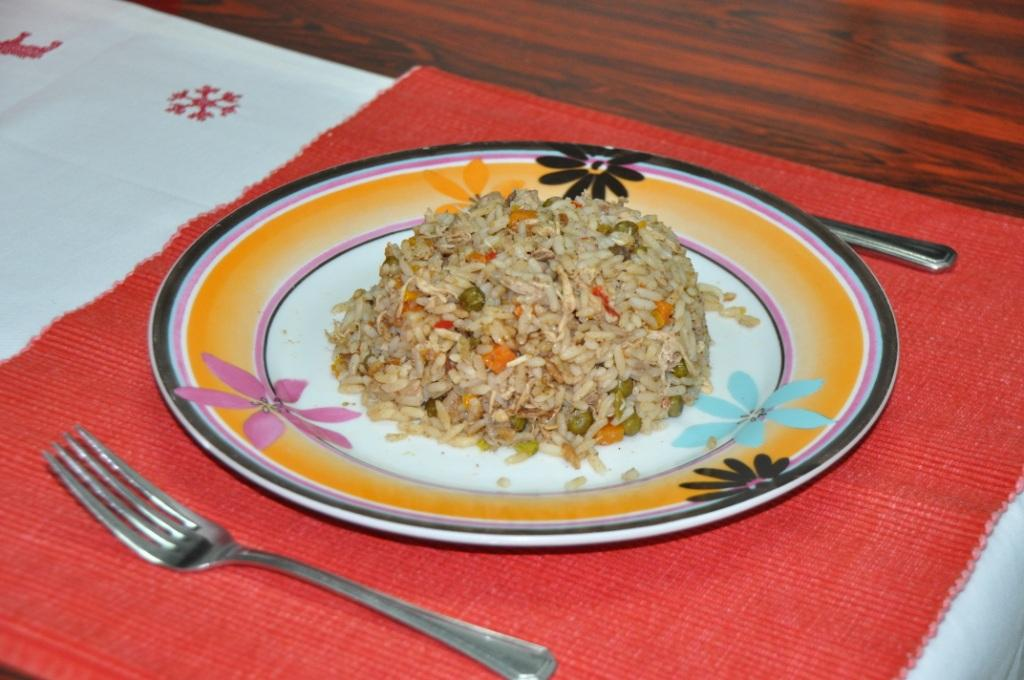 Chicken with vegetable rice recipe dish away chicken with vegetable rice recipe forumfinder Choice Image