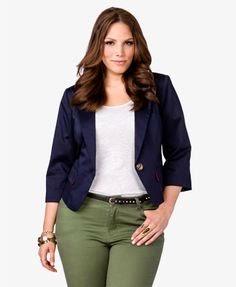 Modelos de chaquetas para mujeres gordas
