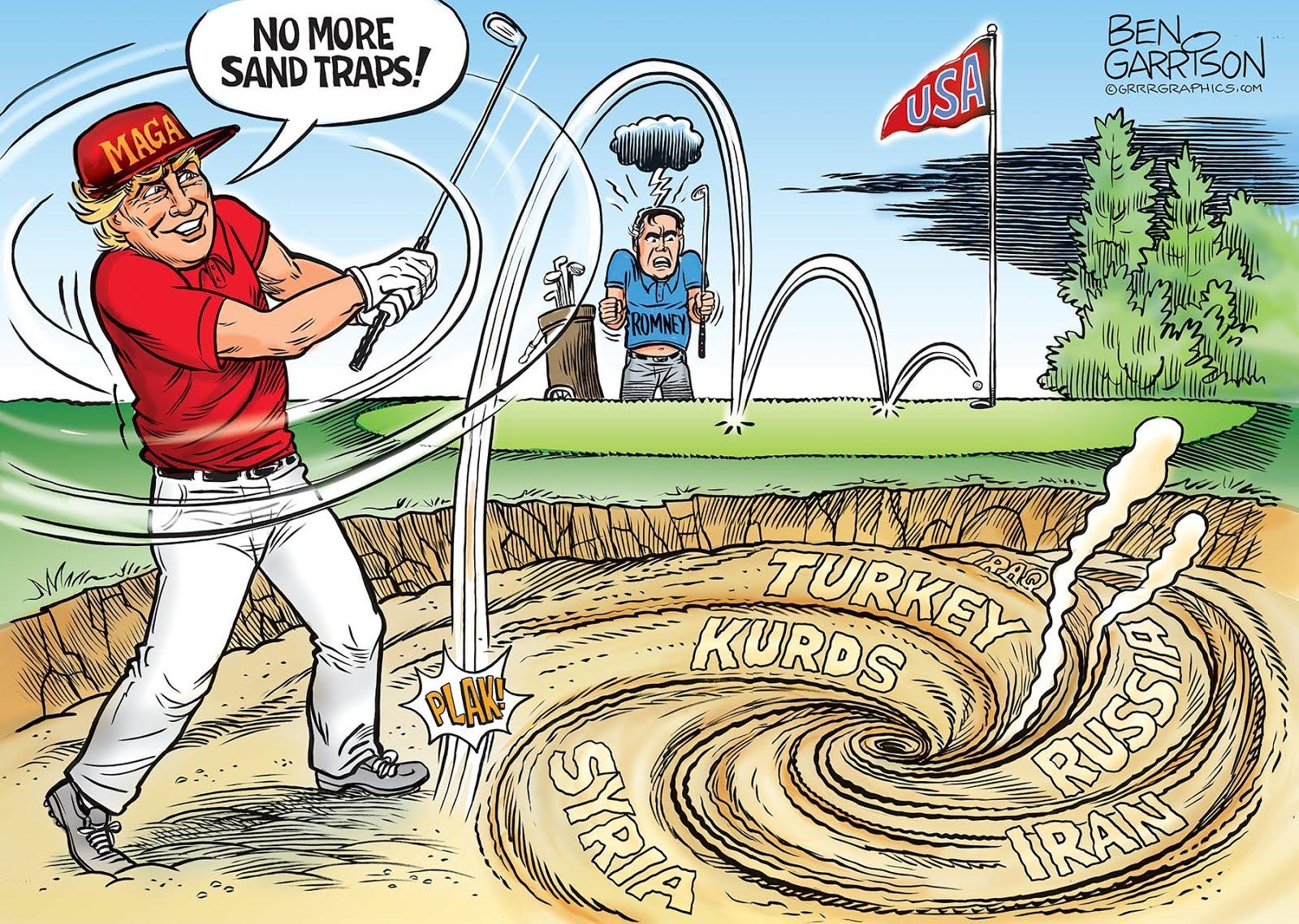 Trump' sand traps