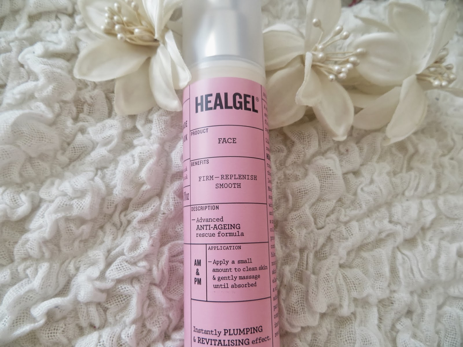 Healgel, Review, Skincare, Pink, Plastic surgery, Face, Gel, Primer, Omega oil, Lavender, Anti-ageing, product, celebrity, famous, dermatologist