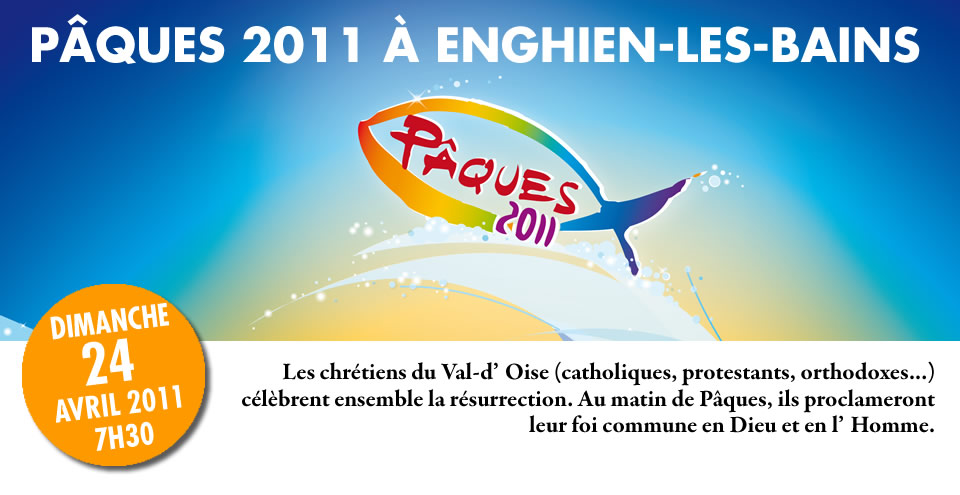 Pâques 2011 tous ensemble à Enghien-les-Bains