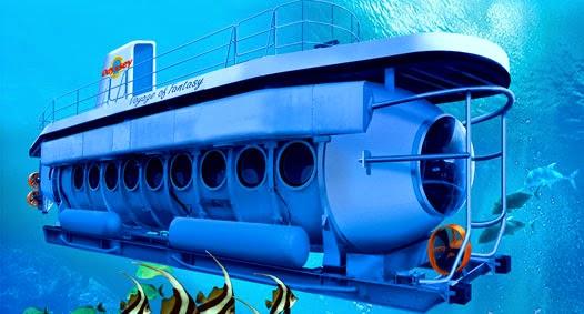 Objek Wisata Odyssey Submarine Bali