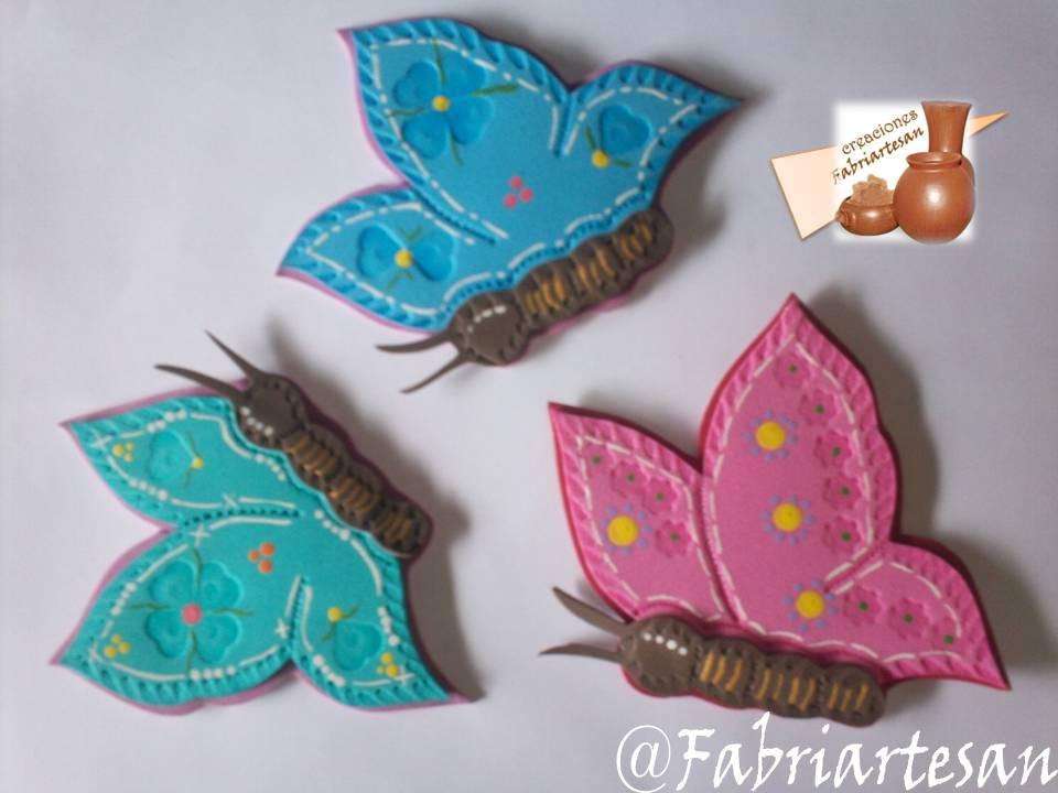 Fabriartesan creaciones en foami for Escarapelas en foami