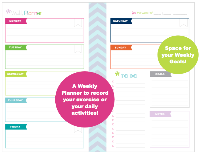 "Clean Life and Home: Daily Fitness Planner {Half Letter 5.5"" x 8.5""}"