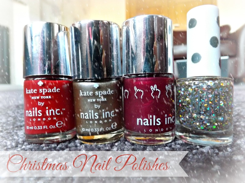 Christmas Nail Polishes : Blogmas Day 14