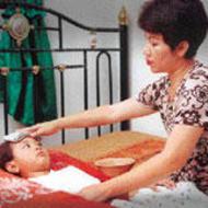 Anak Sakit Panas Demam dan Tubuh Anak Kejang-kejang