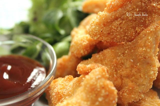 Q.b. - Quanto Basta.: Chicken Nuggets alla paprica