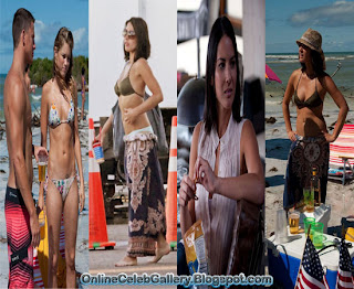 Olivia Munn Bikini, Magic Mike Promo Pics