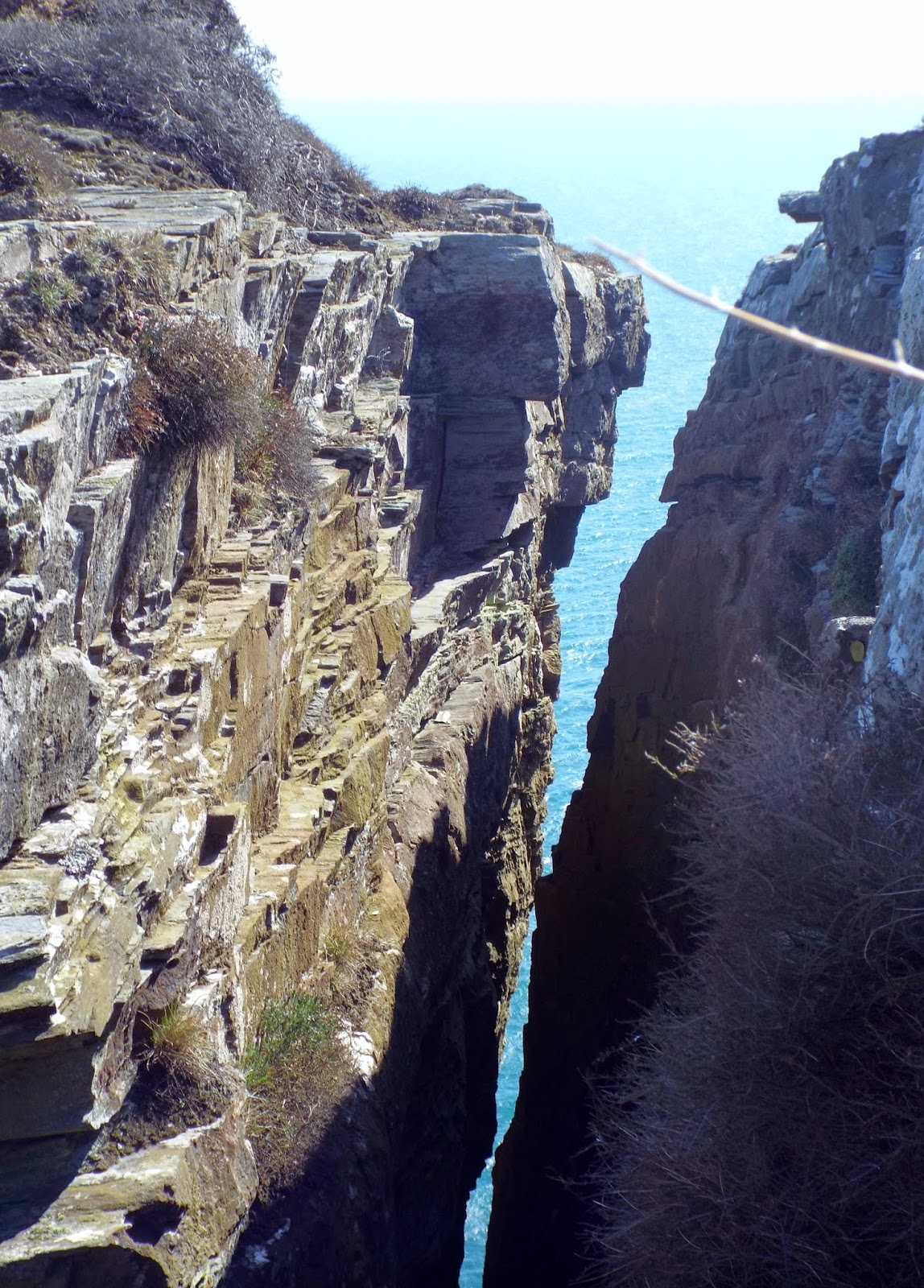 The Chasms, Isle of Man, UK - photo by Katie @ Second-Hand Hedgheog travel blog