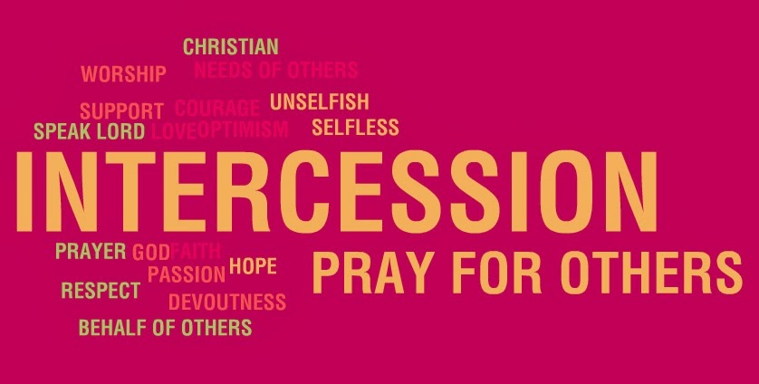 In Christianity, intercession prayer is the