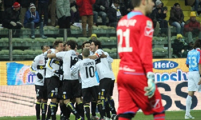 Parma Catania 3-3 highlights