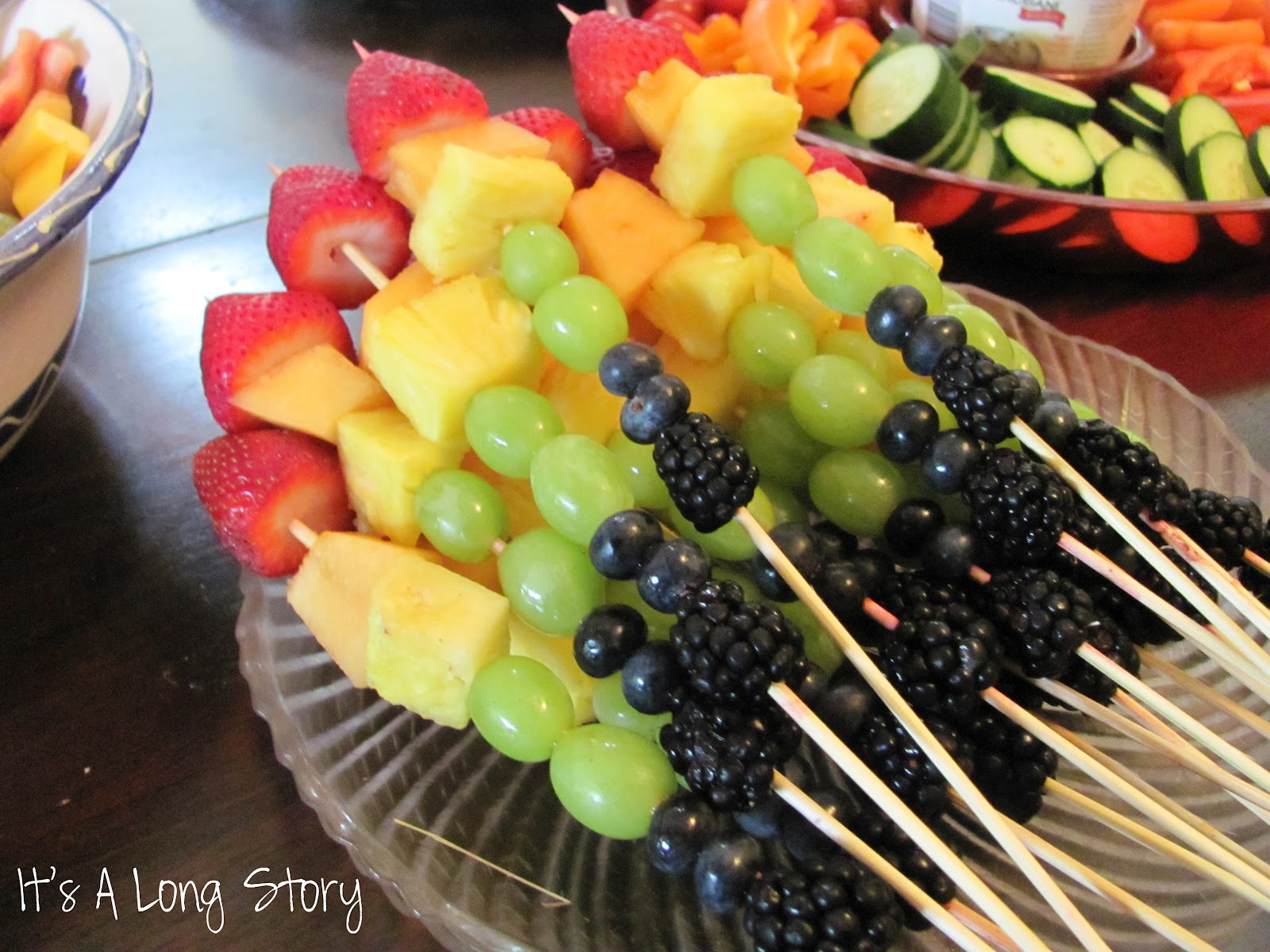 simple fruit salad fruit kabobs