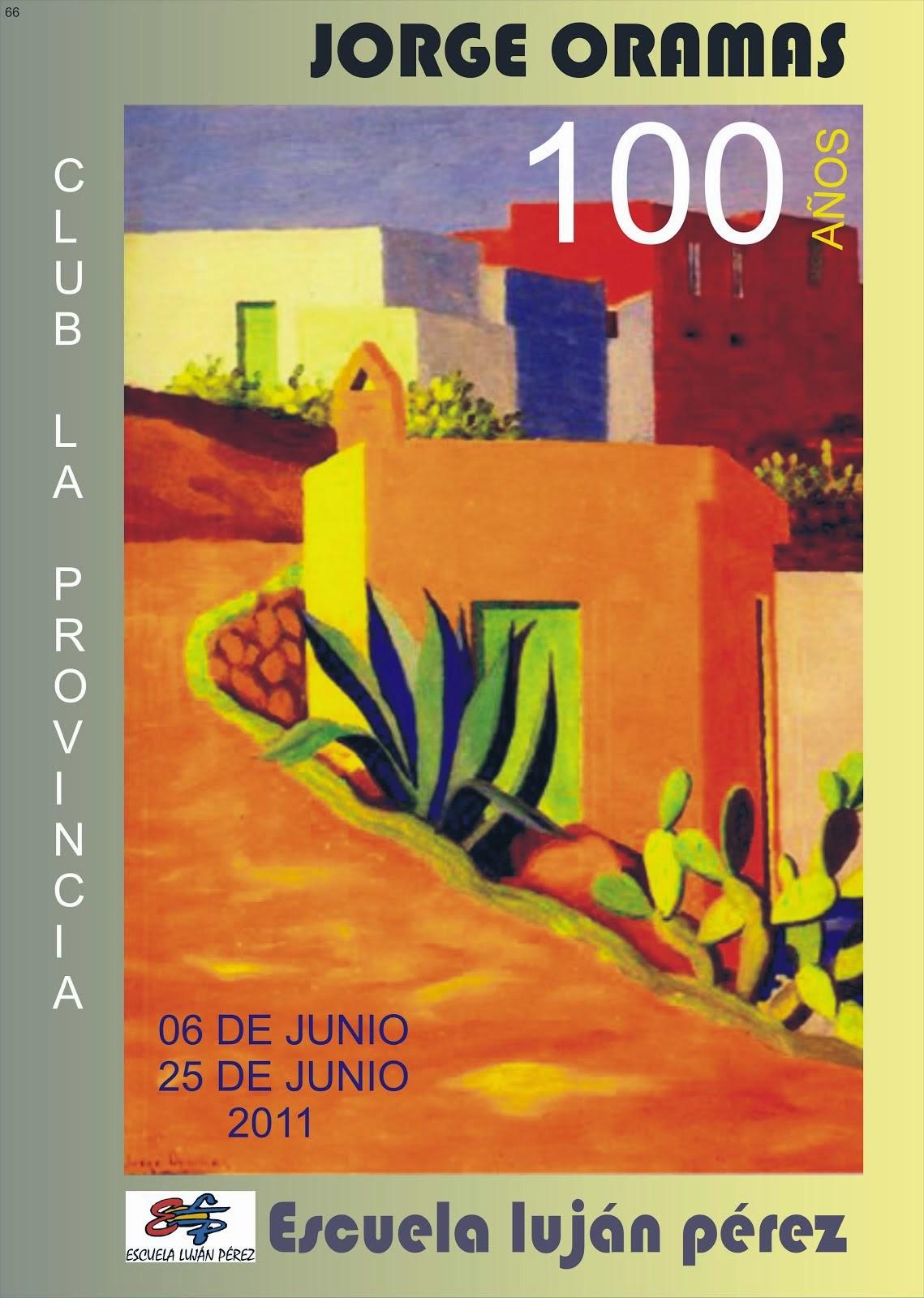 CATÁLOGO EXPOSICIÓN JORGE ORAMAS