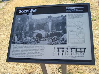 Gorge Wall and diagram