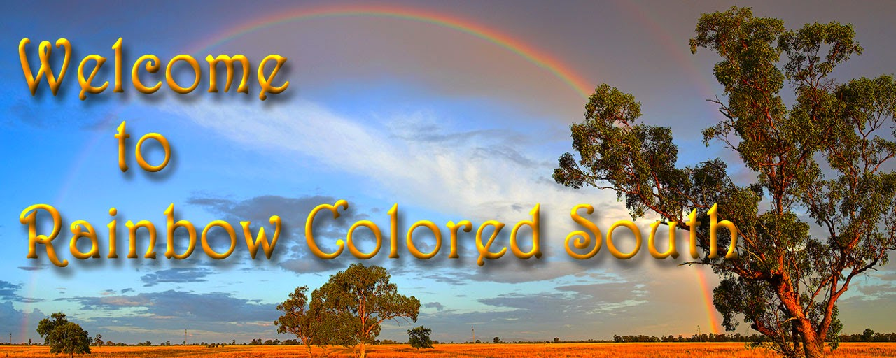 Rainbow Colored South