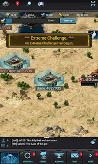 Screenshots of the Mobile Strike for Android tablet, phone.