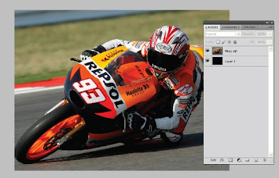 Efek Speed Lighting di Photoshop