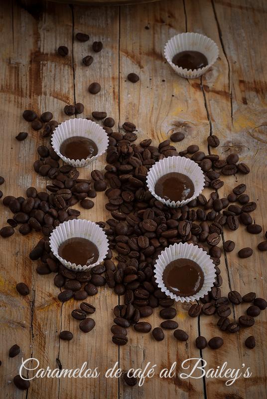 caramelos de café al bailey's