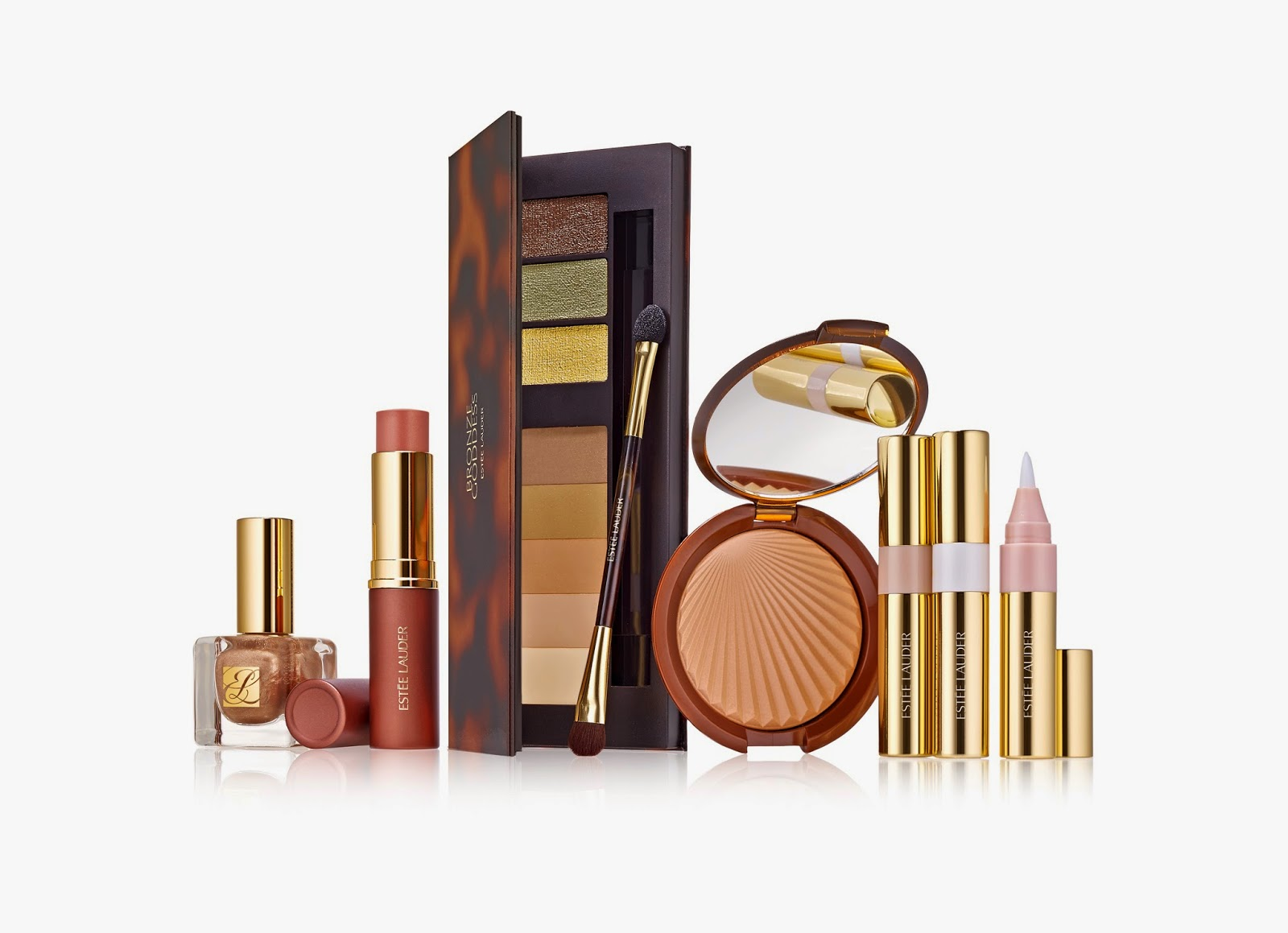 Estée Lauder  Bronze Goddess Shimmering Nudes Collection