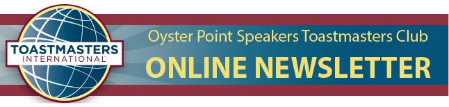 Oyster Point Speakers Toastmasters Club