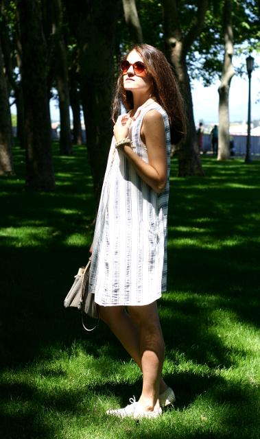 vestido lino